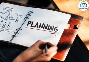 نکات مهم که قبل از برنامه ریزی باید بدانید