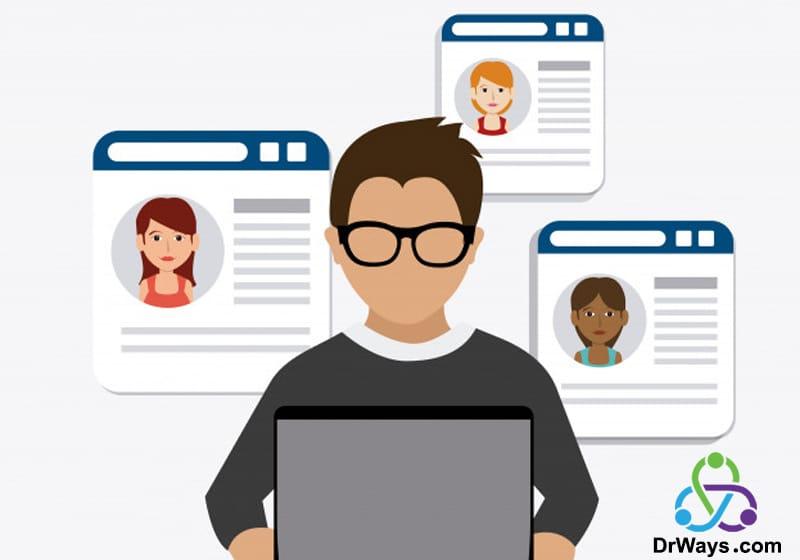 استفاده از شبکه های اجتماعی برای موفقیت در بلاگر شدن
