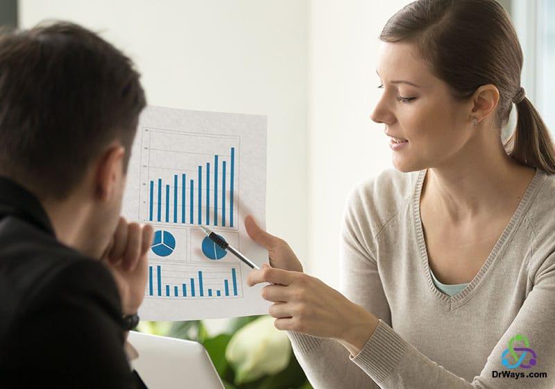 کاهش و افزایش در فروش محصولات یک شرکت