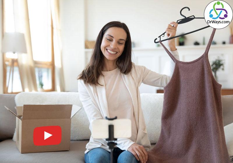 فروش محصولات در یوتیوب