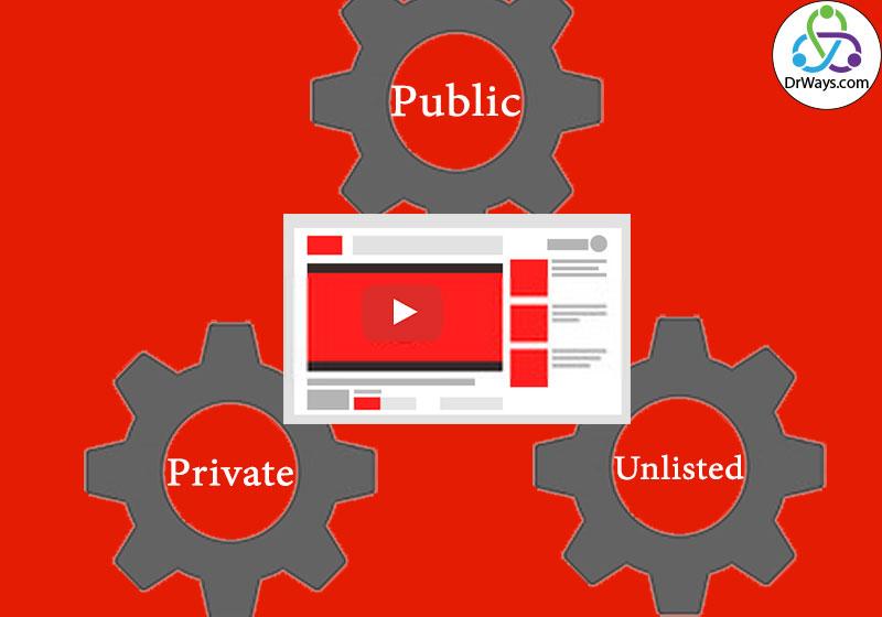 انواع انتشار در یوتیوب