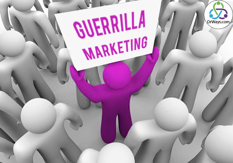 نمونه ایده های بازاریابی چریکی