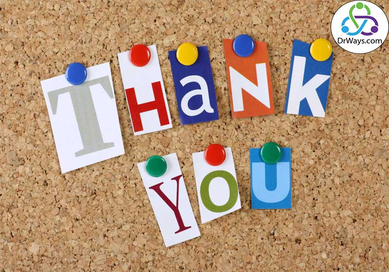 راه های خلاقانه برای تشکر کردن