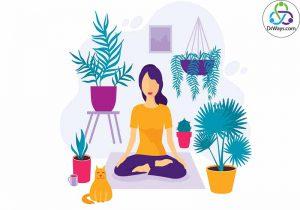 تمرین راحت نشستن برای انجام مدیتیشن
