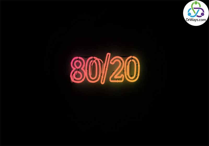 قانون ۸۰ ۲۰ در فروش