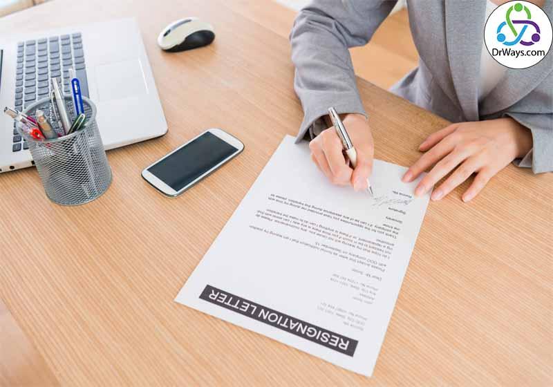 نوشتن استعفا نامه حرفهای