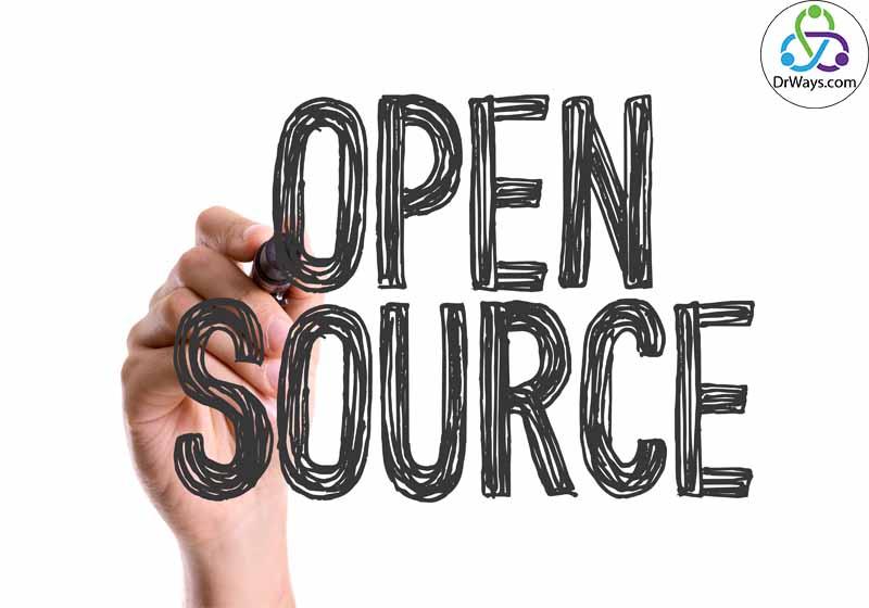 متن باز یا (open source)